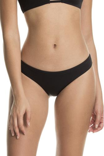 Black Onyx Sublime Reversible Bikini Bottom BLACK