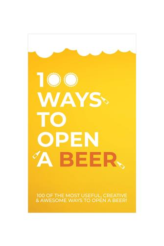 100 Ways To Open A Beer Card Game YELLOW