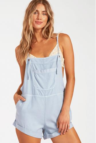 Light Chambray Wild Pursuit Short Overall CHAMBRAY