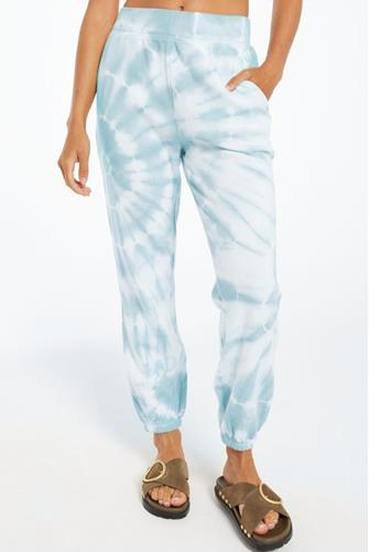 Blue Emery Spiral Tie Dye Jogger BLUE MULTI -