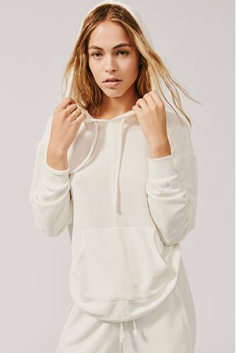 White Back Into It Hoodie WHITE