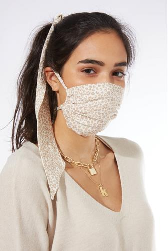 Grace Face Mask and Hair Three Piece Set MULTI