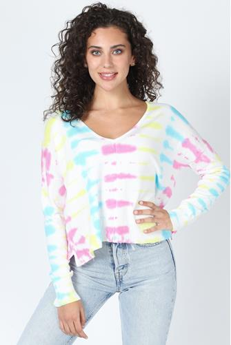 Wisteria Tie Dye Sweater MULTI