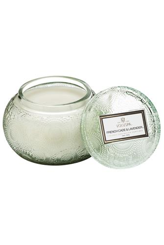 French Cade Lavender Chawan Bowl Candle 14 oz. MINT GREEN