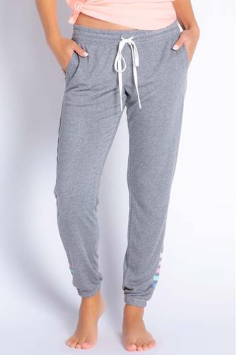 Colorful Classics Stripe Jogger CHARCOAL