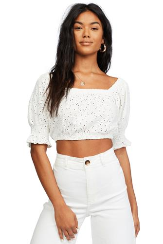 Summer Girl Top WHITE
