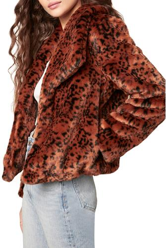 Leopard Queen Jacket RUST