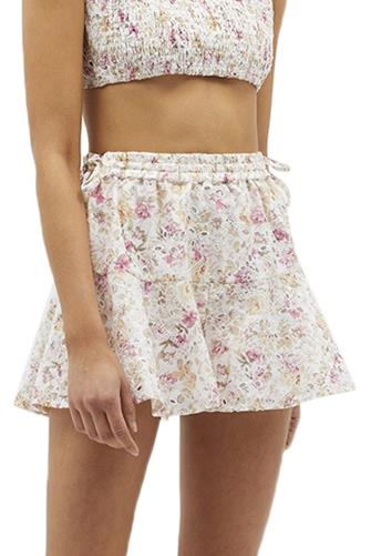 Cecile Prairie Short WHITE MULTI -