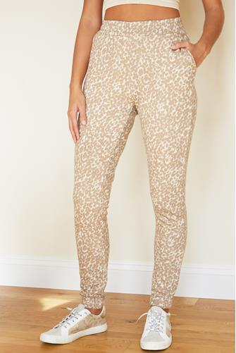 I Want It Cat Way Jogger CAMEL
