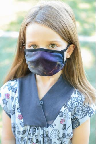 Kids Tie Dye Face Mask MULTI