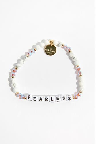 Fearless Cream Puff White Bracelet WHITE