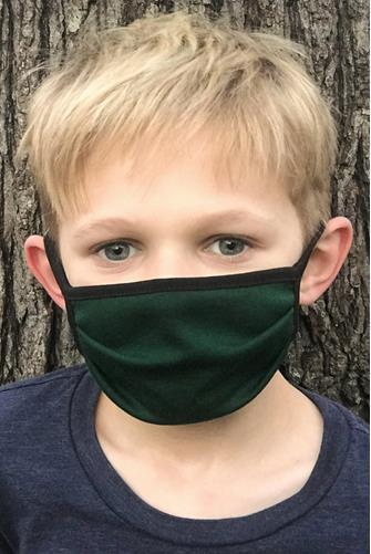 Kids Hunter Green Mask GREEN
