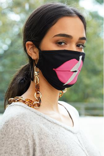 Tortoise Acrylic Face Mask Holder TORTOISE