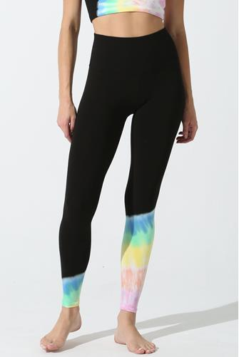 Onyx & Rainbow Sunset Beam Leggings MULTI