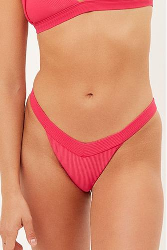Grace Rosewood Cheeky Bikini Bottom FUCHSIA