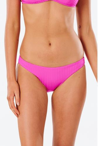 Pink Premium Surf High Waisted Bikini Bottom PINK