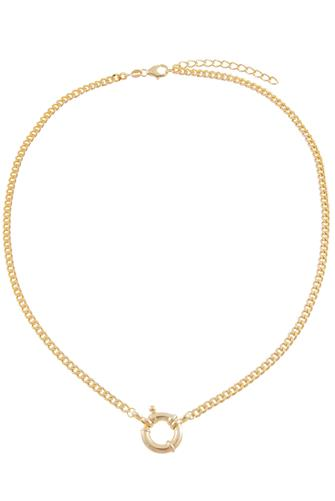 Toggle Cuban Chain Necklace GOLD