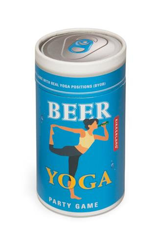 Beer Yoga Game BLUE