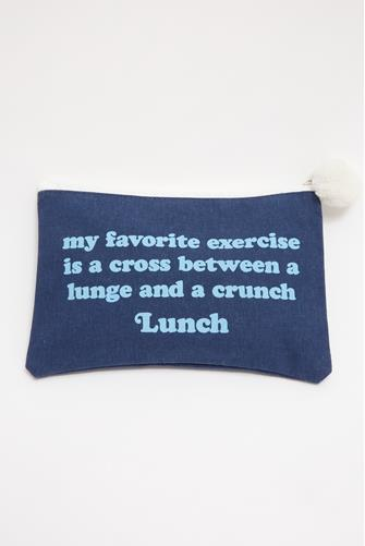 Crunch Lunch Cosmetic Bag NAVY