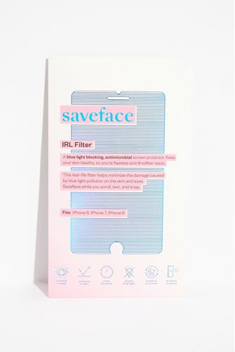 Blue Light Blocking IRL Filter Screen Protector iPhone 6, iPhone 7 & iPhone 8 PINK