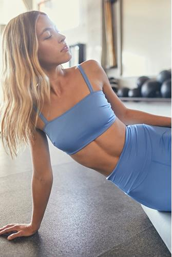 Blue Very Prairie Tube Bra LITE BLUE