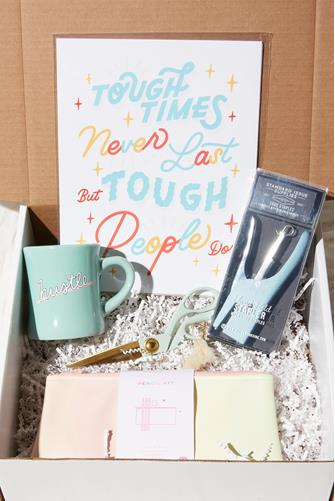 Mint Work From Home Box MINT GREEN