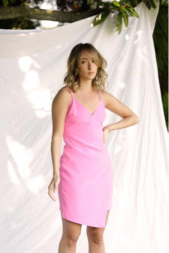 Pink Sugar Razza Dress PINK