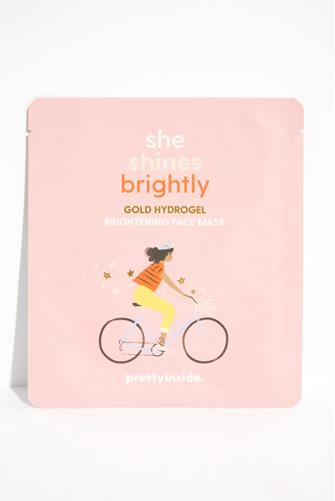 She Shines Brightly Hydrogel Face Mask PINK