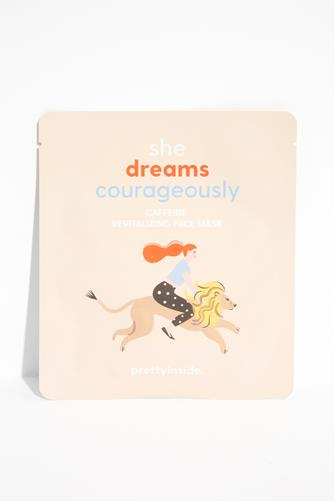 She Dreams Courageously Bamboo Face Mask LITE PINK