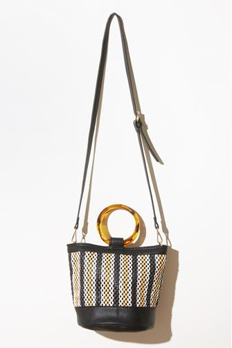 Julieta Shoulder Bag BLACK MULTI -