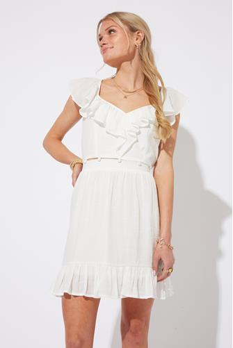 Feel The Breeze Dress OFF WHITE