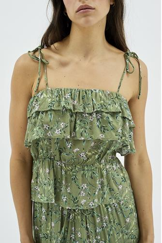 Tully Bow Tie Elastic Top GREEN MULTI -