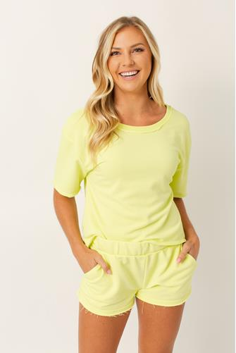 Calla Limelight Open Back Pullover LIME