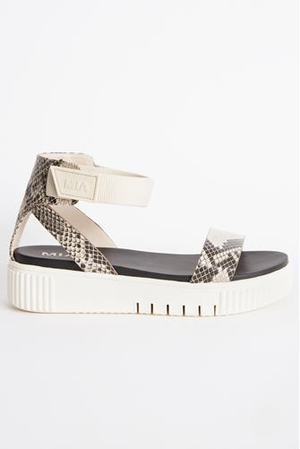 Mika Snake Platform Sandal MULTI
