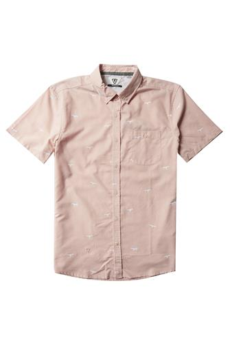 Iiwi Bird Eco Short Sleeve Shirt PINK