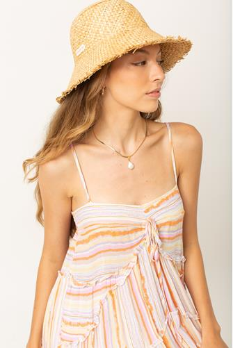 Pick A Straw Bucket Hat NATURAL