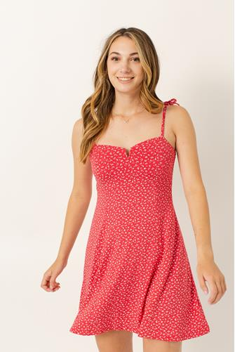 Sunny Bliss Slip Dress PINK MULTI -