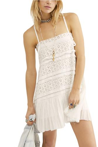 Ivory Shailee Slip Dress IVORY