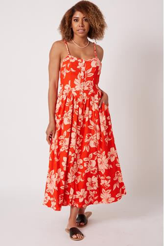 The Perfect Sundress RED MULTI -