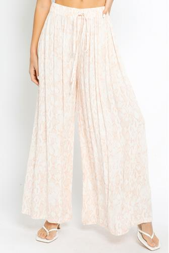 Printed Wide Leg Pant MULTI
