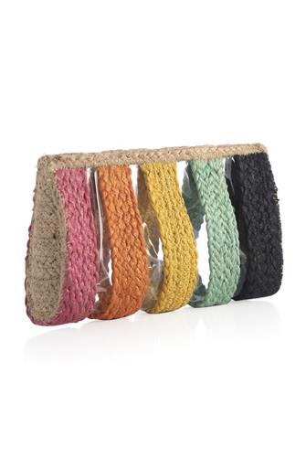 Effie Rainbow Stripe Zip Pouch MULTI