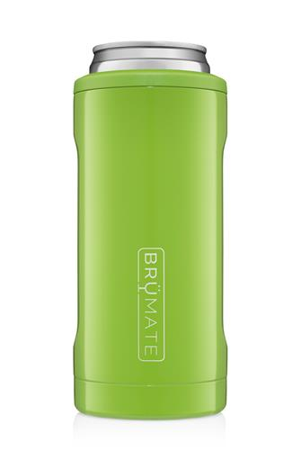 Electric Green Hopsulator Slim Can Cooler LIME