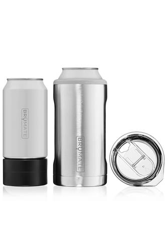 Stainless Steel Hopsulator Trio Can Cooler SILVER