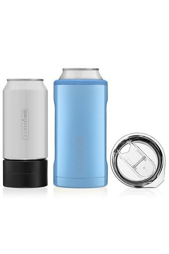 Denim Hopsulator Trio Can Cooler BLUE