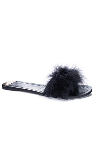 Zoey Slide BLACK