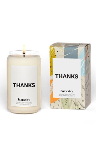 Thanks Candle 13.75 oz. WHITE