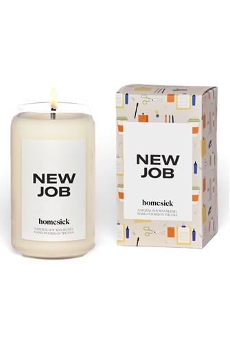 New Job Candle 13.75 oz. WHITE MULTI -
