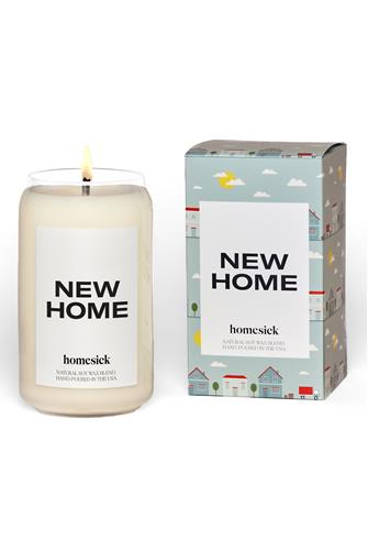 New Home Candle 13.75 oz. BLUE MULTI -