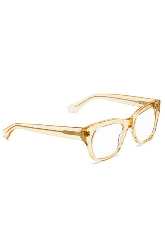 Miklos Raw Honey Blue Light Glasses CLEAR