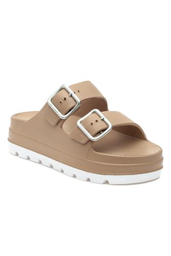 Tan Simply Slide Sandal TAN